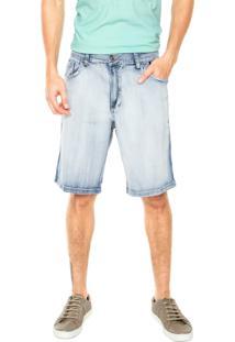 Bermuda Jeans Ellus 2Nd Floor Adam Azul