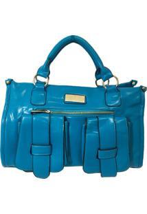 Bolsa Aphrodite By Elizabeth Pasta Com Bolsos Azul
