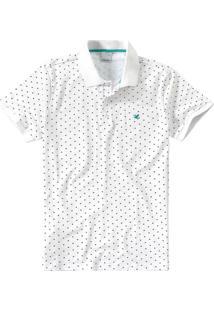 Camisa Polo Slim Piquê Stretch Malwee