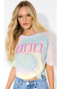 T-Shirt Descolada Lança Perfume Tshirt Azul