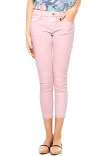 ... Calça Jeans Mng Barcelona Rosa cbf109dd04943