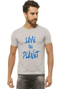 Camiseta Joss - Save - Masculina - Masculino-Mescla