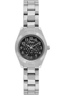 Relógio Condor Feminino Eterna Mini - Co2035Kwh/3P Co2035Kwh/3P - Feminino-Prata