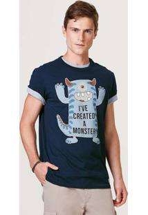 Camiseta Masculina Manga Curta Com Estampa - Tal Pai Tal Filho
