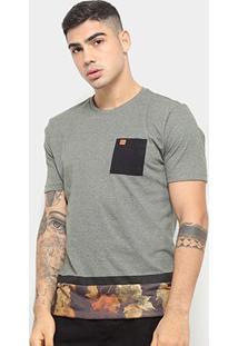 Camiseta Hd Autumn Leaves Masculina - Masculino-Verde