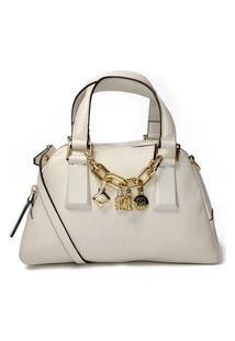 Bolsa Schutz Tiracolo Pingentes Branco Off - S5001815570002