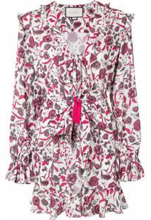 Alexis Vestido Kosma Com Estampa Floral - Estampado