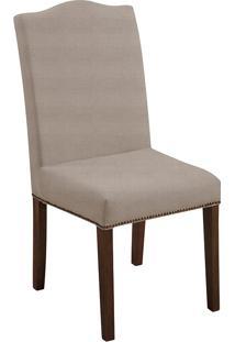 Cadeira Silvia T0031-Daf Mobiliário - Bege