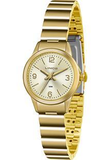 5a95ff38fd5 ... Relógio Lince Analógico Lrg4434Lc2Kx Feminino - Feminino-Dourado