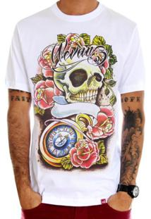 Camiseta Wevans Tattoo Old School Branco
