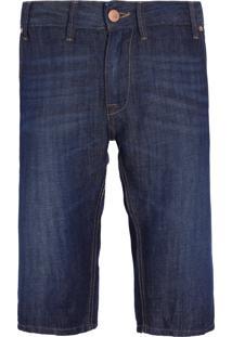 Bermuda Jeans - Azul