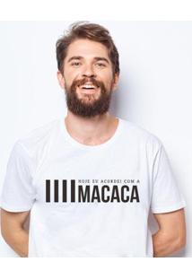 Camiseta Zé Carretilha - Pon-Macaca Masculina - Masculino