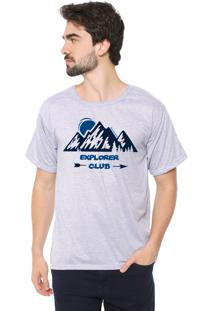 Camiseta Eco Canyon Explore Club Cinza