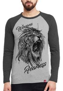 Camiseta Wevans Leão Tattoo - Masculino