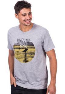 Camiseta Long Island Brand Masculina - Masculino