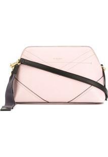 Givenchy Bolsa Transversal Com Detalhe Pespontado - Rosa