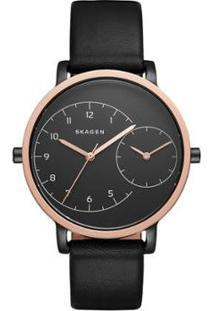 Relógio Skagen Unissex Hagen - Skw2475/2Pn Skw2475/2Pn - Feminino-Rose Gold