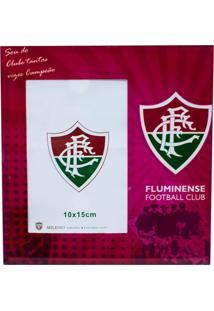 Porta Retrato Minas De Presentes 1 Foto 15X10Cm Vidro - Fluminense Roxo