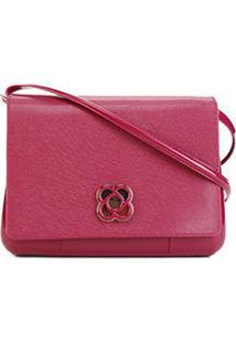 Bolsa Petite Jolie Mini Bag Básica Feminina - Feminino-Vinho