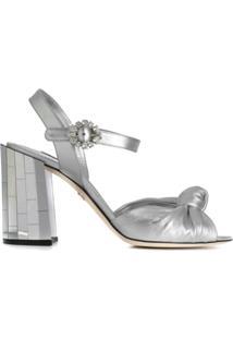 Dolce & Gabbana Sandália Keira - Prateado