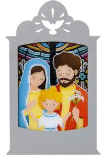 Luminária Carambola Sagrada Família Cinza