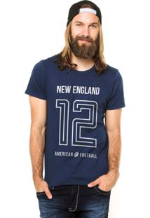 Camiseta Rgx New England American Football Azul