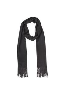 Cachecol Liso Preto Polo Wear Preto Simply