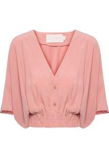 Camiseta Feminina Calliandra - Rosa