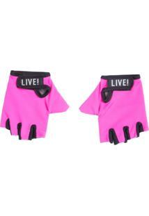Luva Live Lycra Pink