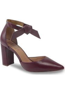 Sapato Scarpin Parô 1.187A Com Amarração Feminino - Feminino