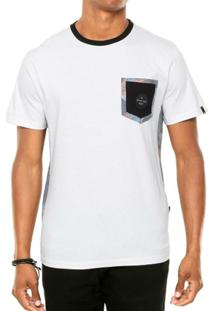 Camiseta Quiksilver Floral Lateral - Masculino