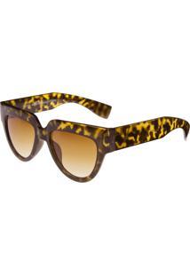 Óculos Ray Flector Montague Ungerground Vgt563 Co Onça