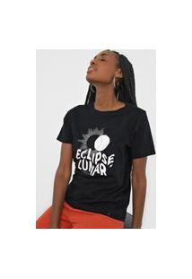 Camiseta Cantão Eclipse Lunar Preta