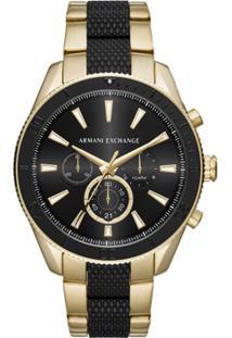 44a5590ffee Netshoes. Relógio Giorgio Armani Pegada Masculino ...