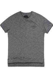 Camiseta Masculina Devorê Caveira Preto Cinza