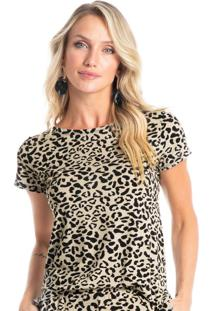 Blusa Animal Print Savanah