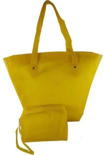 Bolsa Bag Dreams De Praia Impermeável Amarela