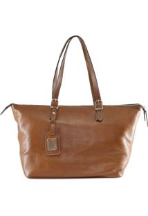 Bolsa Absolut Leather Couro Emilly Caramelo