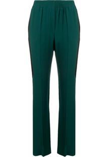 Givenchy Calça Com Cintura Elástica - Verde