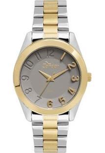 Relógio Feminino Condor Co2039Aq5C - Unissex-Prata