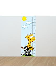 Adesivo Régua De Crescimento Girafa Santista (0,50M X 1,50M)