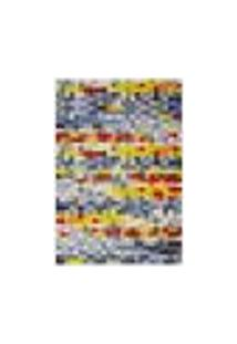 Tapete Pixel N Retangular Veludo (200X250) Colorido