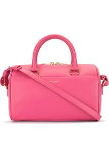 Yves Saint Laurent Pre-Owned Bolsa Tote De Couro - Rosa