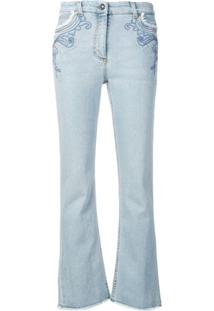 Etro Calça Jeans Slim Bootcut - Azul