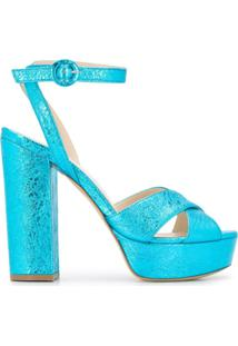 P.A.R.O.S.H. Sandália Cathy Plataforma - Azul