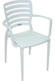 Cadeira Sofia Vazada Horizontal Branca - Tramontina