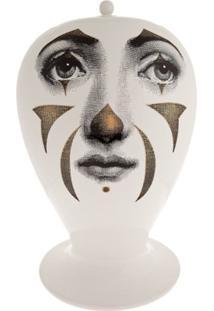 Fornasetti Vaso De Porcelana 'Bitossi' - Branco