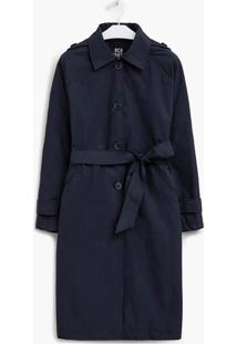 Trench Richards Coat Dion Azul - Azul - Feminino - Dafiti