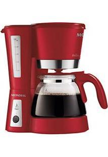 Cafeteira Elétrica Mondial Bella Arome Premium 26 Xícaras - Vermelha
