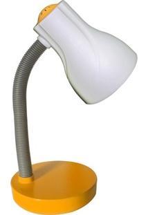 Luminária De Mesa Orientável 35Cmx12,5Cm Spiralle Startec Amarelo